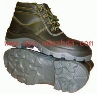 Ботинки комбинированные (ю+к) прошитые мбс, утепленные мехом