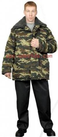 Куртка Ватная КМФ (кур 107) тк.Диагональ
