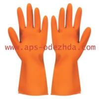 Перчатки резиновые хозяйственые