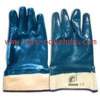 Перчатки с нитрилловым покрытием МБС (Хайкрон), манжет крага полный облив