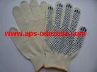 Перчатки трикотажные ПВХ 4-нитка 13 кл.