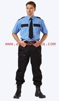 Рубашка охранника с к/рукавом
