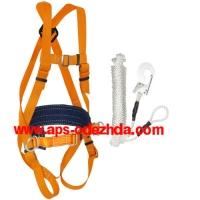 Пояс удерживающий с наплечными и набедренными лямками УС 2 ВЖ