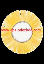 Дорожная дисковая щетка с ворсом из полипропилена