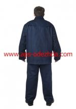 Костюм сварщика из импортной ткани «Фаэтон» тк. «Пробан 3111» 330 гм2