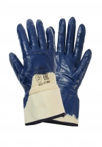 Перчатки с нитриловым покрытием МБС манжет крага частичный облив
