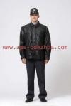 Куртка демисезонная из искусственной кожи