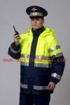 Куртка сигнальная ДПС с элементами из световозвращающих материалов