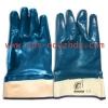 Перчатки с нитрилловым покрытием МБС  манжет крага полный облив